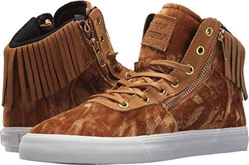 Supra Damen Cuttler Sneaker Tan / Weiß