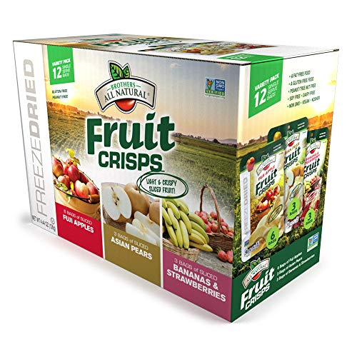 Brothers-ALL-Natural Fruit Crisps, Variety Pack