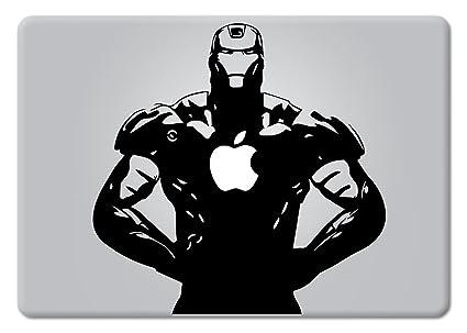 6ef290f2ff7b Amazon.com: Iron Man Superhero Apple Macbook Laptop Decal Vinyl ...