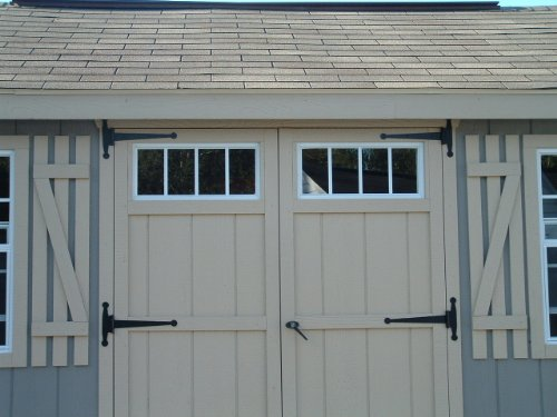 Shed Transom Window 10'' X 23'' White Flush by Shed Windows and More (Image #1)