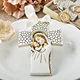 Madonna And Child Hanging Cross Ornaments , 14 by FavorOnline