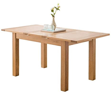 Amazon.com - White Oak Solid Wood Table Top Extension, 1200 ...
