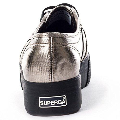 Cotmetw Grigio Da Donna Sneakers nero 2790 Superga 78Uq00