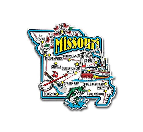 Missouri State Jumbo Map Magnet ()