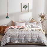 Uozzi Bedding 3 Piece Duvet Cover Set 800 - TC Luxury Hypoallergenic Comforter Cover