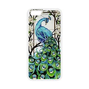 CHENGUOHONG Phone CaseBeautiful Peacock For Apple Iphone 6 Plus 5.5 inch screen Cases -PATTERN-15