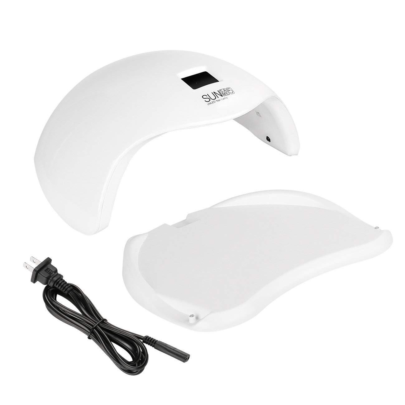 Ciysty 48W LED UV Nail Dryer Nail Lamp with 6 Timer Setting,Senor For Gel Nails and Toe Nail Curing uv nail
