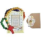Bigdream Baby Catholic Baptism Gift Set, Includes Baby's...