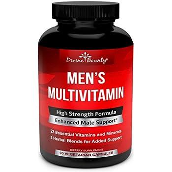 05b05a26d Mens Multivitamin – Daily Multivitamin for Men with Vitamin A C D E K B  Complex