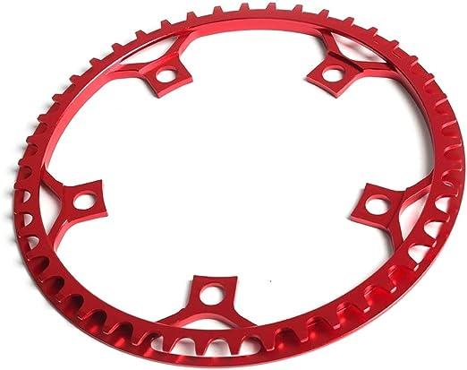 Glomab Plato de Bicicleta, Cadena de Bicicleta BCD 130 mm Anillo ...