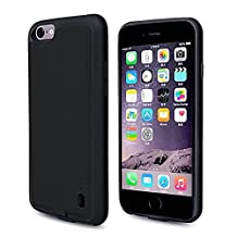 iPhone 6/6S Battery Case- Gomeir Ultra Slim Charging Case High-Capacity 2,000mAh Battery for iPhone 6/6S (Build-in Magnetic Works with Magnetic Car Phone Mount Holder)