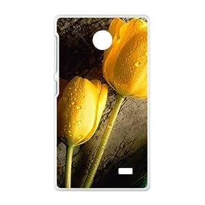 Fashion Creative Artistic White Phone Case for Nokia Lumia X