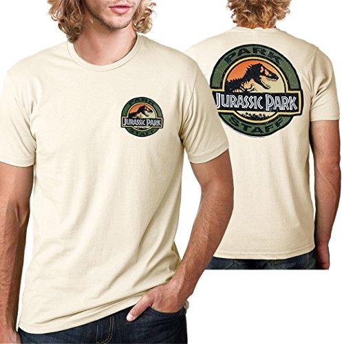 (Jurassic Park Park Staff T-Shirt-X-Large)