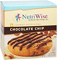 NutriWise - Chocolate Chip with Icing Protein Cookie (7 Servings/Box)