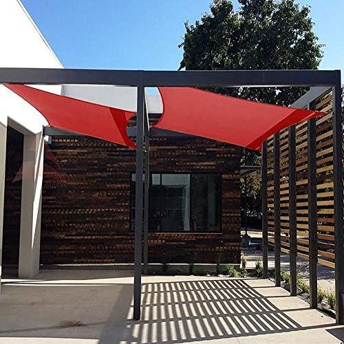 GuoWei- Velas de sombra Solar Obstruido Malla Neto Transpirable con Ojales para Cubrir Jardin Plantas Pérgola Al Aire Libre (Size : 4x7m): Amazon.es: Jardín