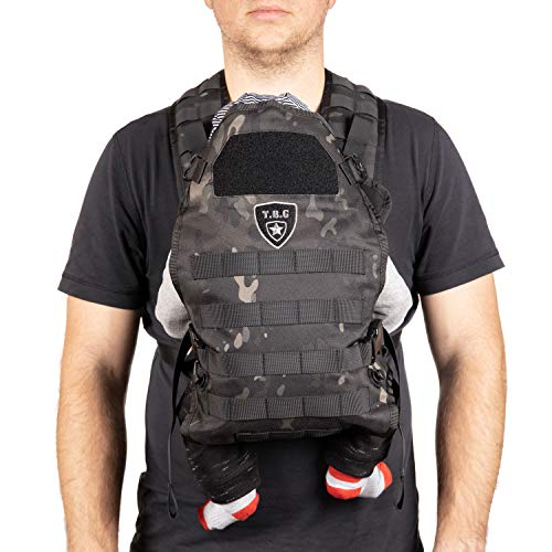 TBG Tactical Baby Carrier (Black Camo) from Tactical Baby Gear