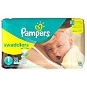 Pampers Swaddlers Newborn Diapers Size 1 35 count