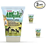 3 Pack Tubes - AllHide Live Stock Ointment - Horse, Goat, Cow, Dog, Farm Animal