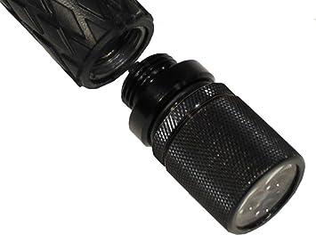 Mfh schlagstock lampe 3 weiße led: amazon.de: sport & freizeit