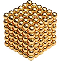 Microcase Neocube Manyetik Toplar Neodyum Sihirli Mıknatıs 5 mm 216 Adet Bilye - Gold