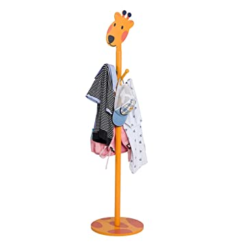 Amazon.com: Standing Entryway Coat Rack Coat Rack Cartoon ...