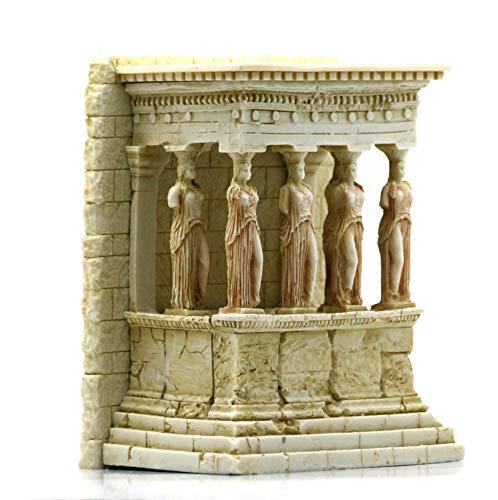 The Caryatid Porch Erechtheion Temple Acropolis Athens Sculpture Statue 6.7in