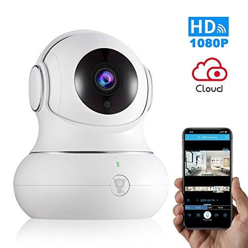 1080P Wireless Indoor IP Camera -【Newest】 Littlelf WiFi Home Security Surveillance IP Camera with PTZ,2-Way...
