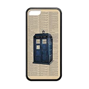 Canting_Good Phone Booth Custom Case Shell Skins for iPhone 5C TPU (Laser Technology)