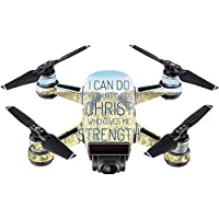 Skin For DJI Spark Mini – Through Christ | MightySkins Protective, Durable, and Unique Vinyl Decal wrap cover | Easy To Apply, Remove, and Change Styles | Made in the USA