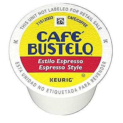 Café Bustelo Espresso Style K-Cup Pods for Keurig K-Cup Brewers, Dark Roast Coffee