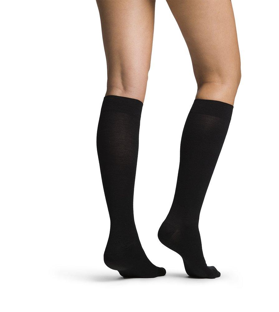 SIGVARIS Women's ALL-SEASON MERINO WOOL 152 Calf High Compression Socks 15-20mmHg
