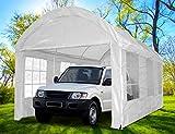 Quictent 3x6 Meter White Portable Party Tent Garage Carport