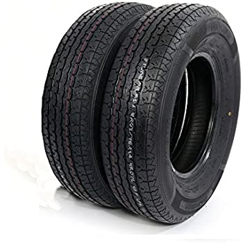 Amazon Com Set Of 2 Str Ii St205 75r14 St205 75 14 Radial Trailer