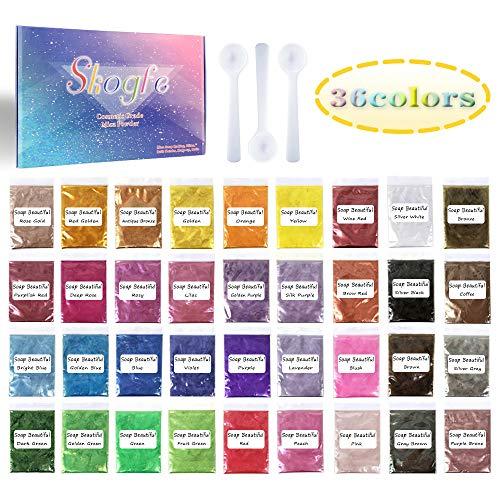 Mica PowderEpoxy Resin DyeSoap