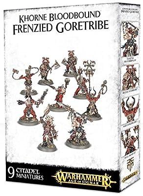 Khorne Bloodbound: Frenzied Goretribe from Games Workshop