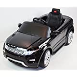 2015 Licensed Range Rover Evoque 12v Kids Ride on Power Wheels Battery Toy Car,Remote control,Lights,Music-Black