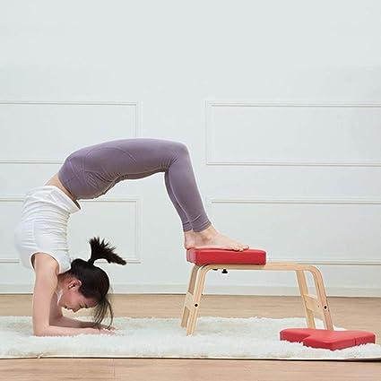 Soporte de manos y varias posturas de yoga Silla ideal ...