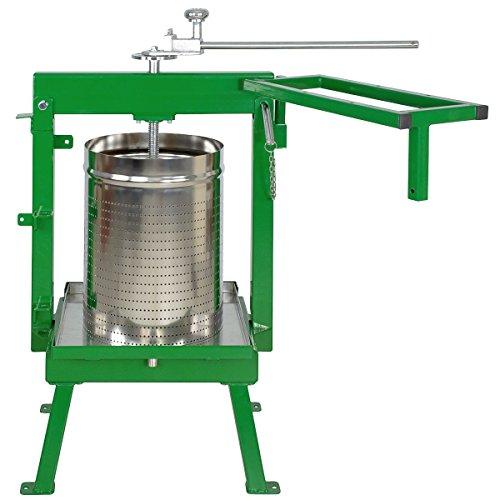 - Glenwood Fruit Press 36 Liter-GSAM + Stainless Basket