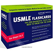 Kaplan Medical USMLE Flashcards: The 200 Diagnostic Tests You Need to Know for the Exam: For Steps 2 & 3