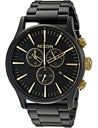 Nixon Men's A3861041 Sentry Chrono Stainless Steel Watch