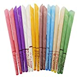 Ear Candles, Natural Beeswax Candling Cones Ear Wax Remover Candles for Aromatherapy (16 Packs)