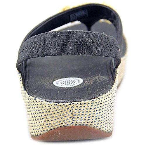 Sandalias De Fitflop Rosita Slide Negro Negro