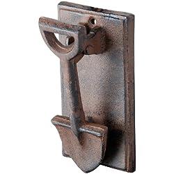 Esschert Design DB55 Cast Iron Spade Doorknocker