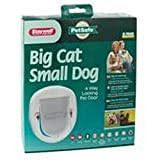 Staywell No.280 Big Cat/Small Dog Pet Door (One Size) (White)