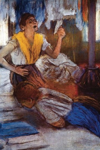 """Download """"In a Laundry"""" by Edgar Degas: Journal (Blank / Lined) (Art of Life Journals) PDF"""