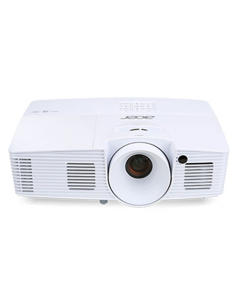 Acer - Essential x137wh 3700 ansi dlp wxga (1280 x 800) portable projector blanco