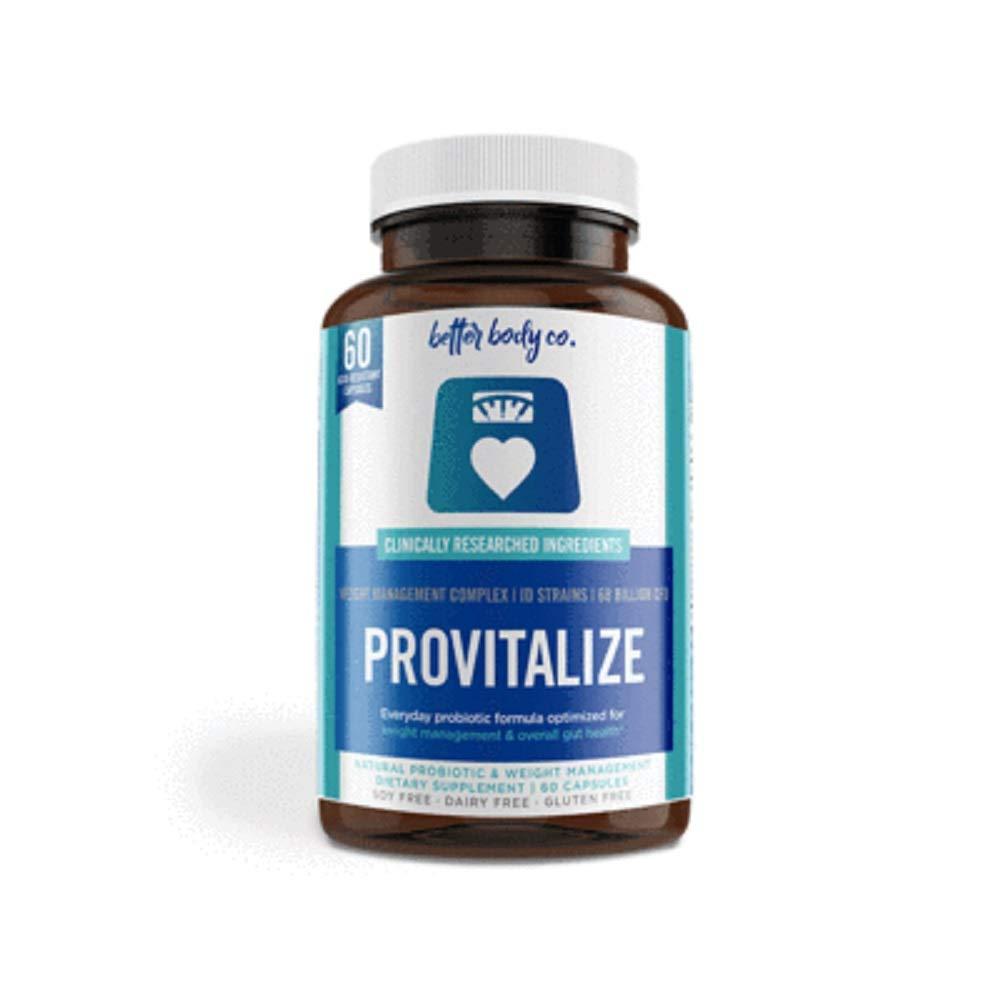 Original Provitalize   Natural Menopause Probiotics for Weight Gain, Hot Flashes, Night Sweats, Low Energy, Mood Swings, Gut Health   Unique Probiotics Formula