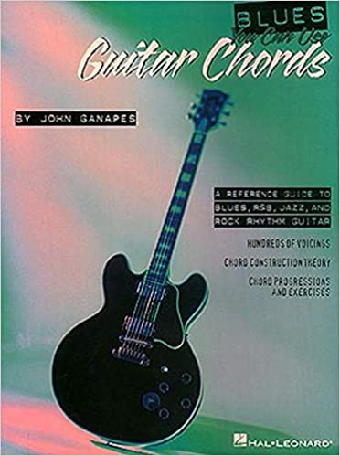 Blues You Can Use Book Of Guitar Chords Guitare Cd Amazon John