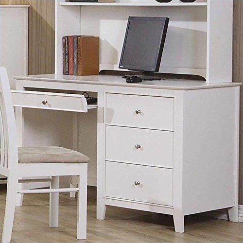 Coaster Home Furnishings Selena Computer Desk with Drawer Storage White