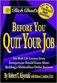 Descargar gratis Rich Dad's Before You Quit Your Job Epub